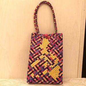 Philippine Map Straw Bag